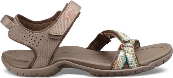 Teva Verra Sandaler Damer brun | Find outdoortøj, sko & udstyr på nettet |  CAMPZ.dk